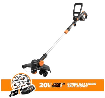 "WORX GT Revolution 20V 12"" String trimmer / lawn edger / mini-mower, Worx yard tools, whipper snipper, lawn edger, weed whacker, best yard tools 2018, best weed eater 2018"