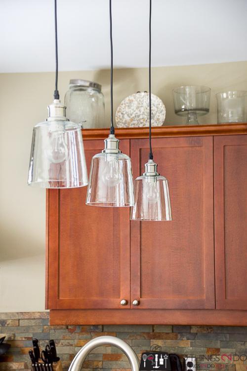how to hang a pendant light, installing pendant lights, how to install a hardwired pendant light, pendant light