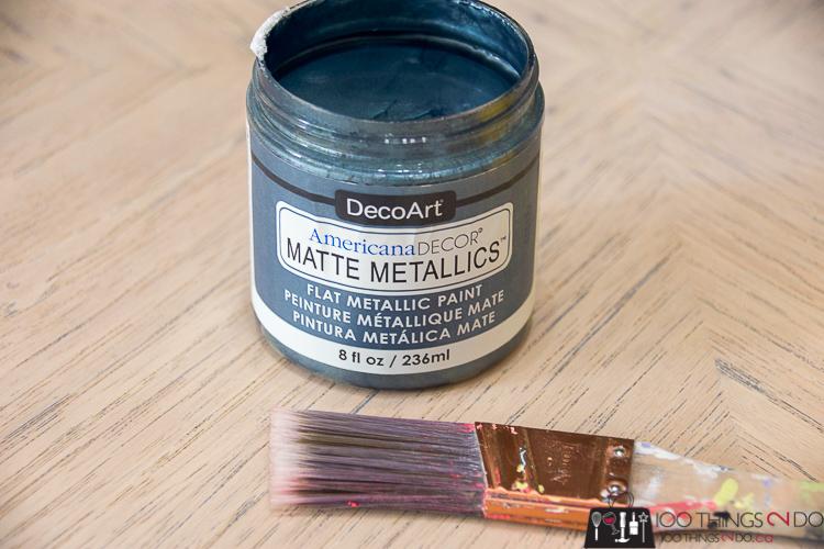 Matte Metallics, DecoArt,