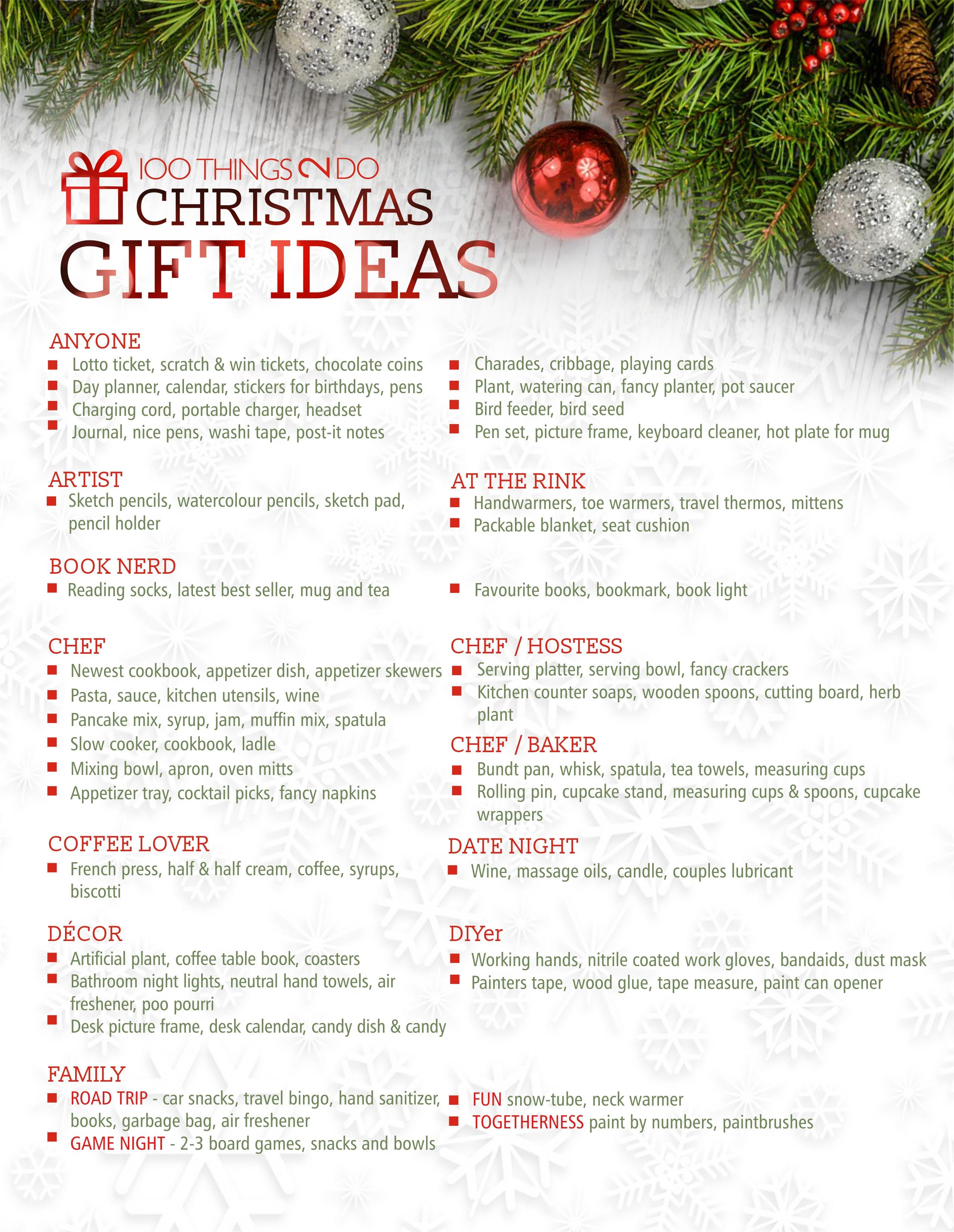 100 christmas gift ideas christmas gift ideas 100 gift ideas