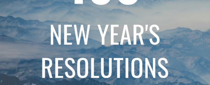 New Year's Resolutions, 100 New Year's Resolutions