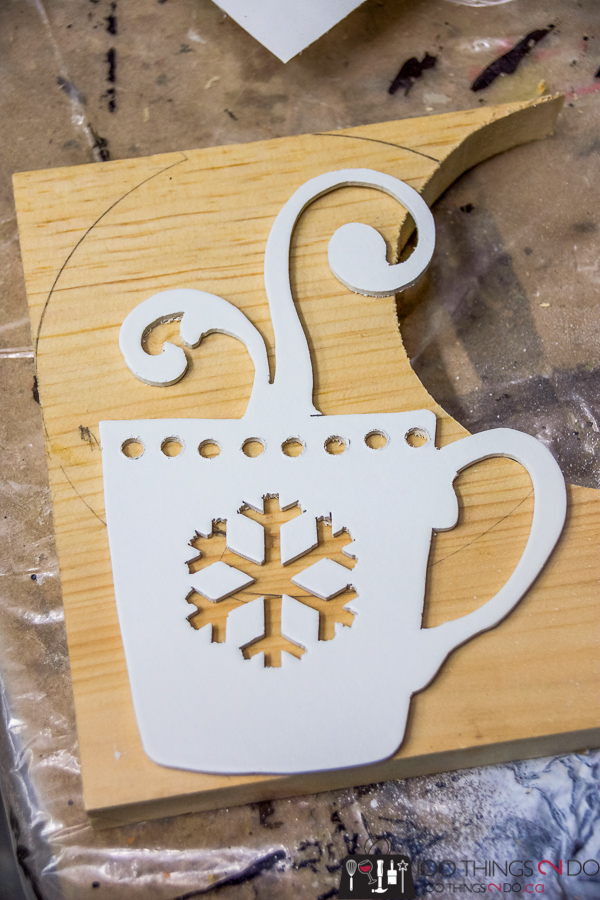 Today is a hot cocoa kind of day, hot cocoa stand, hot chocolate station, hot chocolate stand