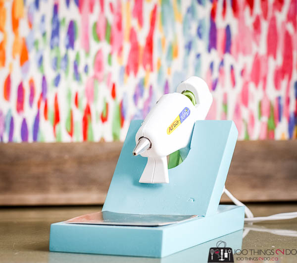 Hot glue gun holder, hot glue gun stand, glue gun holder, glue gun stand