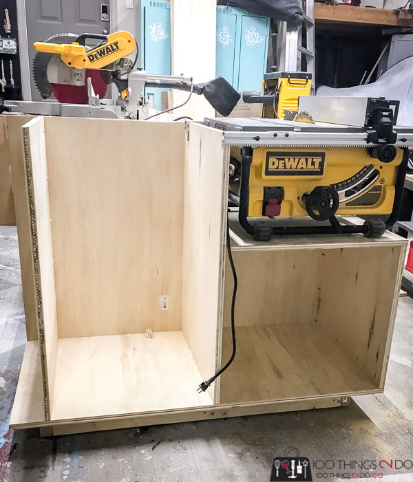 Ultimate workbench, workbench, woodworking bench, assembly table, garage workstation