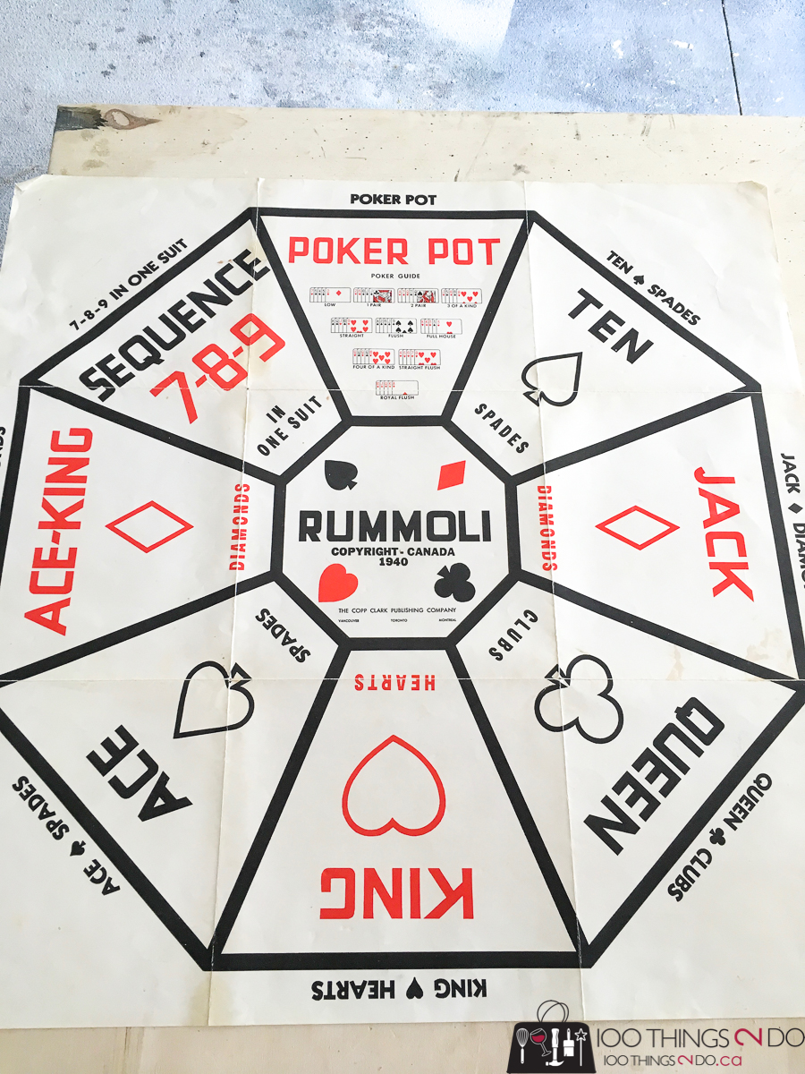 DIY Rummoli board, Do-it-yourself Rummoli