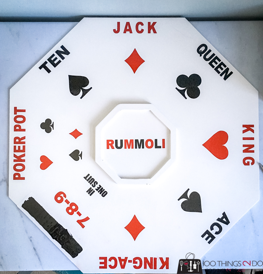 DIY Rummoli board, Do-it-yourself Rummoli