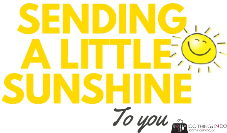 sending a little sunshine, sunshine bag printable