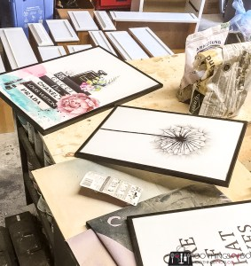 How to wrap a canvas print, wrapping canvas, framing WISH canvas prints