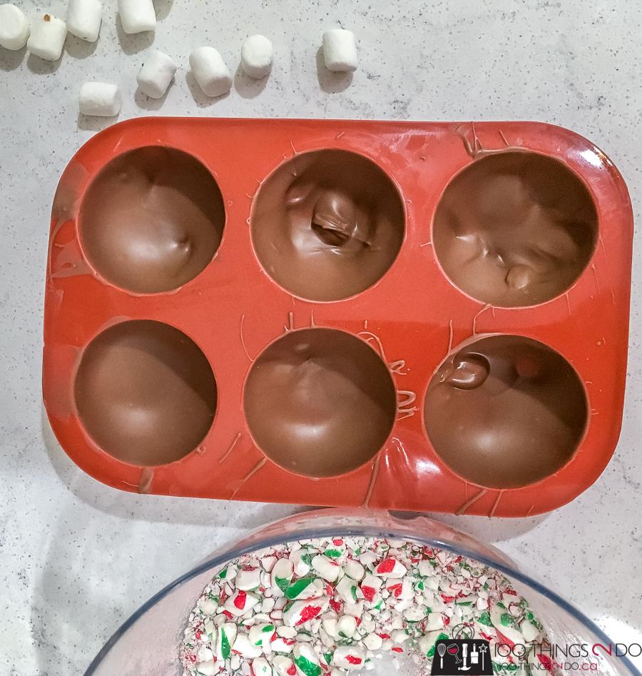 hot cocoa bomb mold