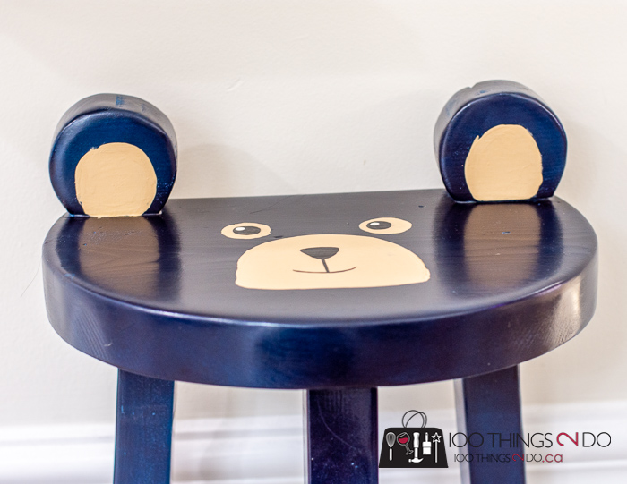 bear stool. bear seat, bear chair