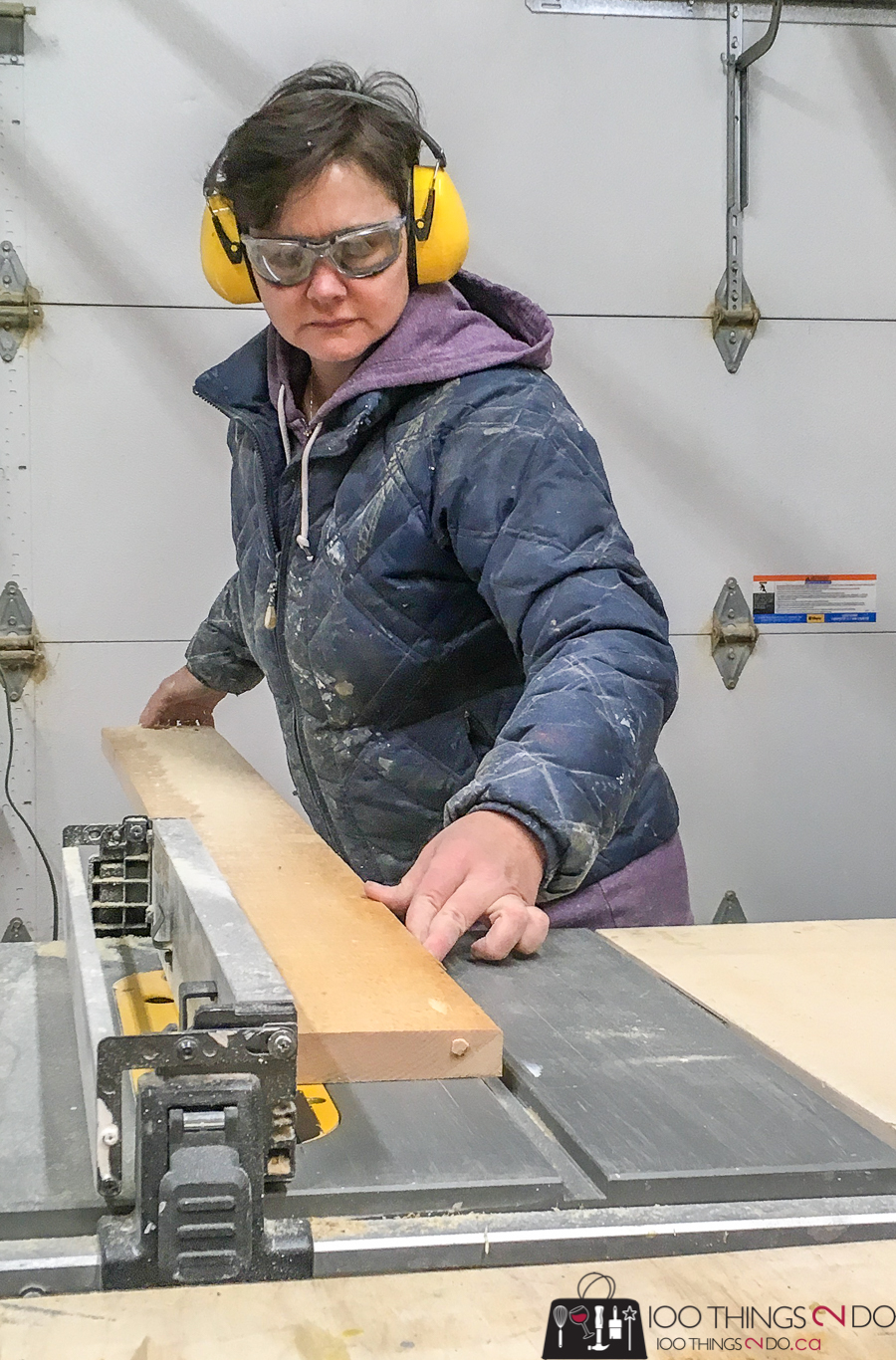100T2D using table saw
