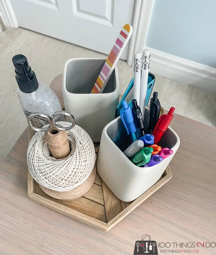 desk organizer lazy susan