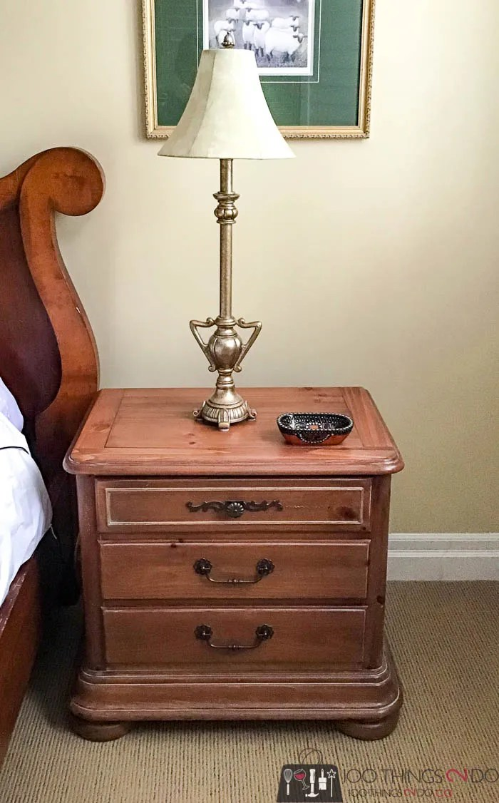 Kate's nightstand, refinishing a nightstand