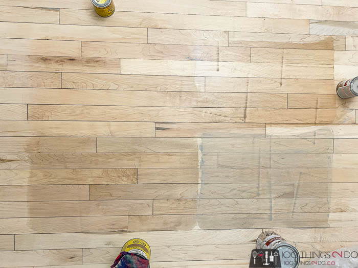 drum sander gouges in hardwood flooring