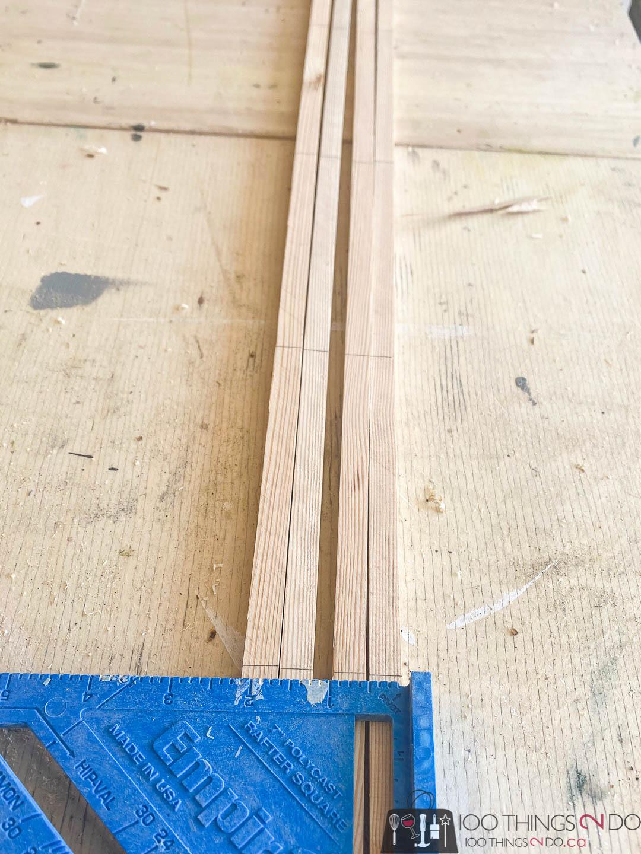 DIY trellis, make your own trellis, scrap wood trellis, trellises