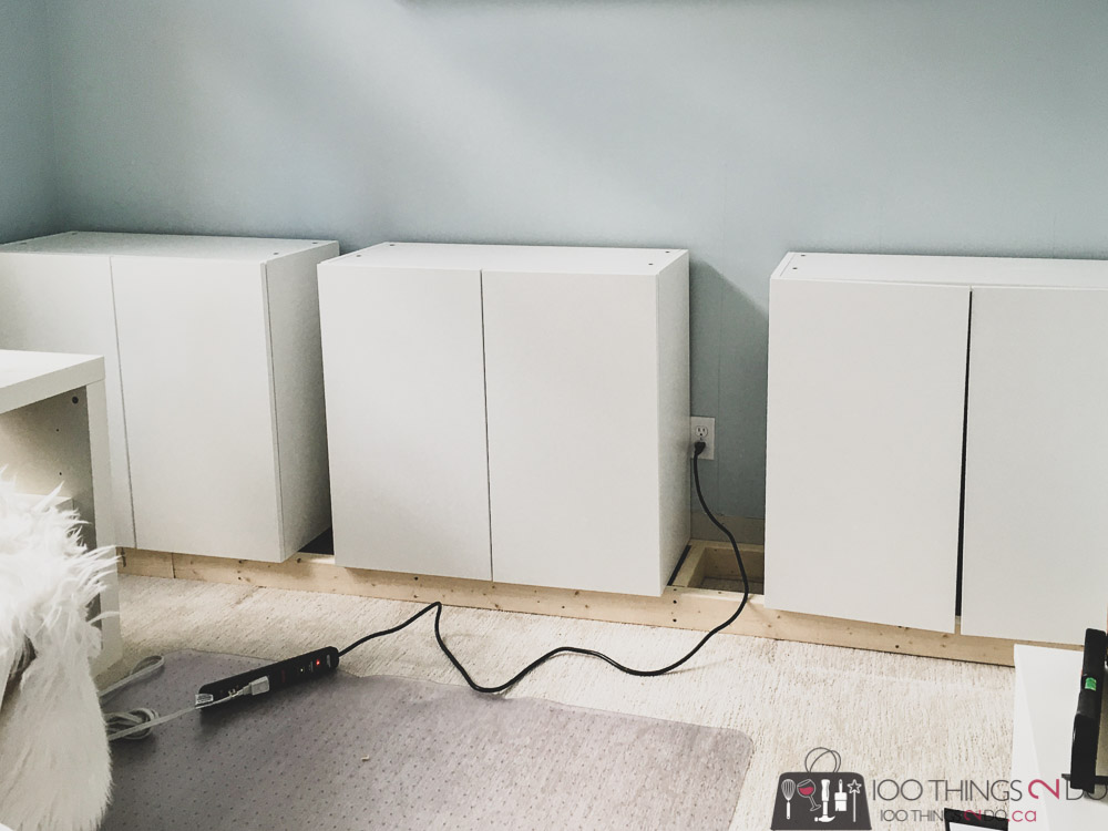 base cabinets for home office built-ins