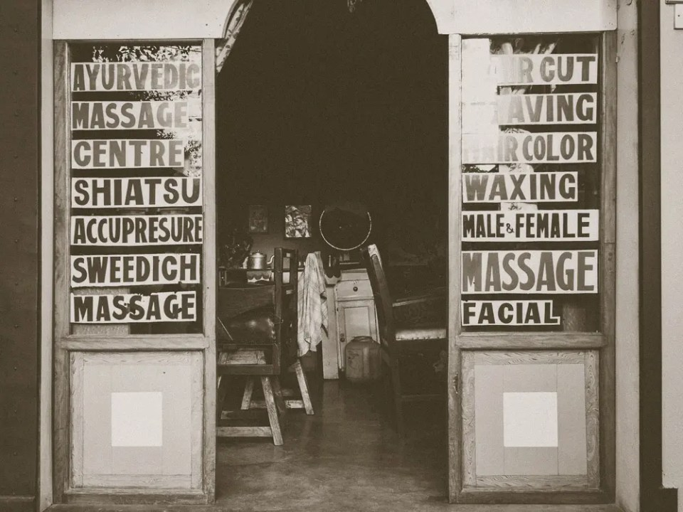 Pokhara barber shop