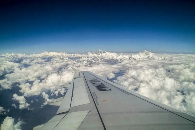 Kathmandu to Lhasa Air China flight