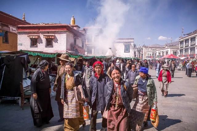 Tibetan smiles