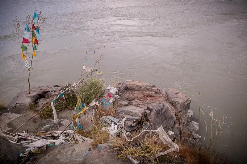 Water Burial place, Tibet