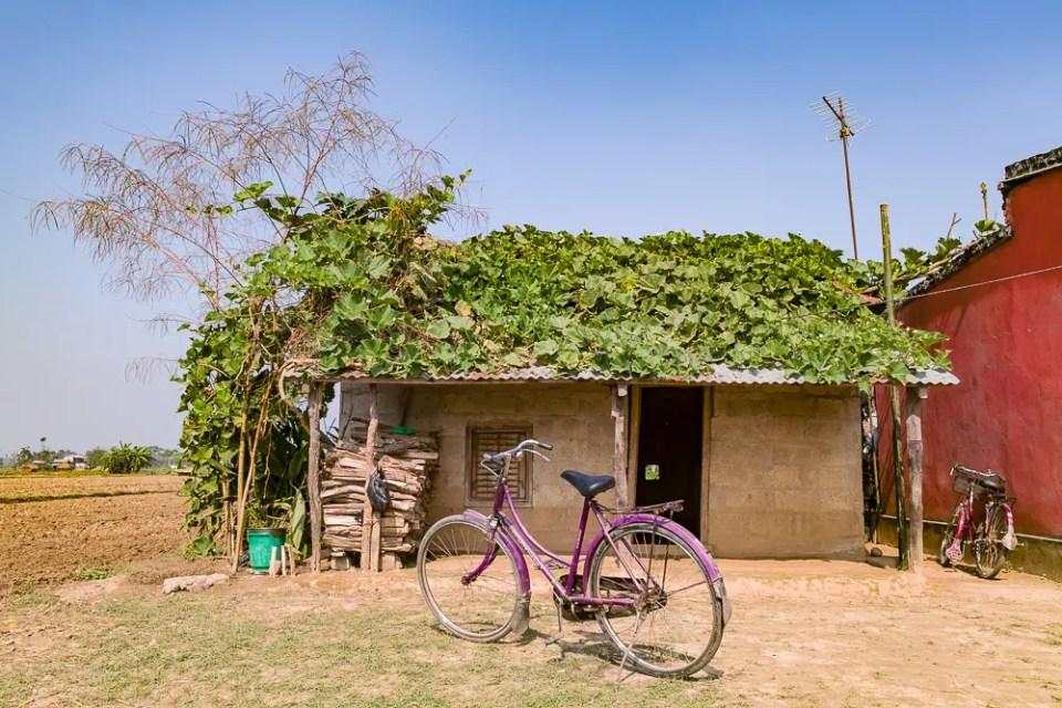 Nepali village house
