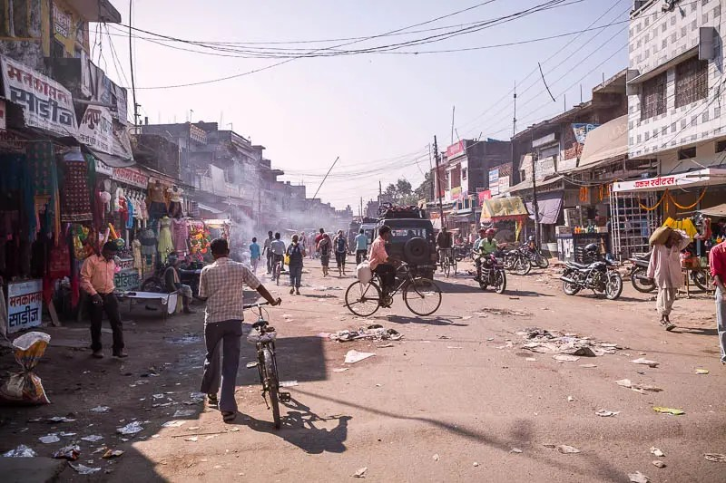 Nepal - India border crossing