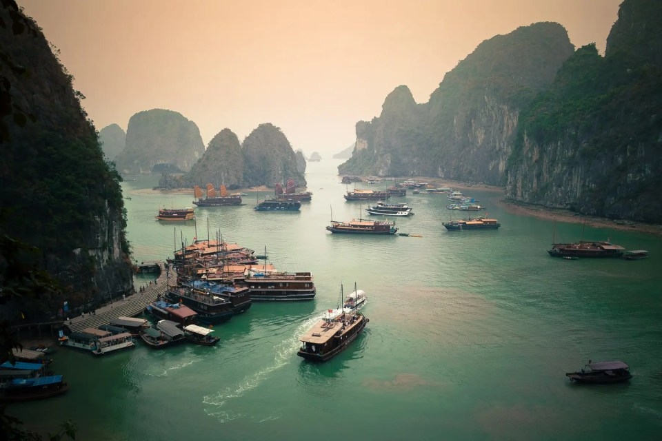Halong Bay, Vietnam - 25 travel quotes