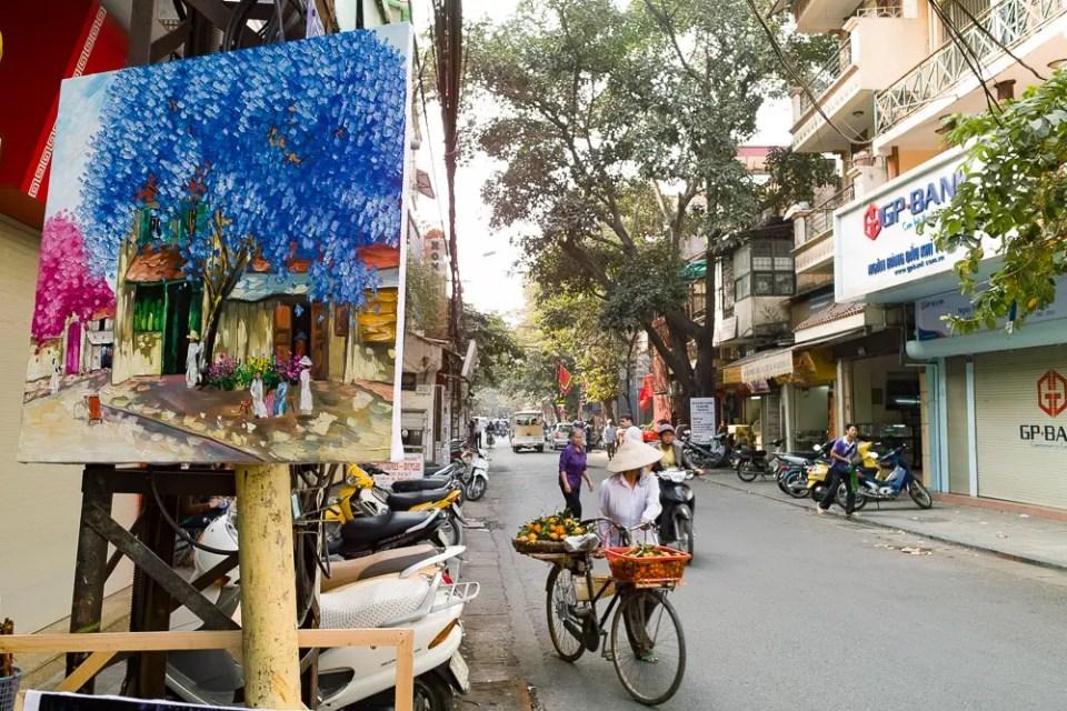 Hanoi painting