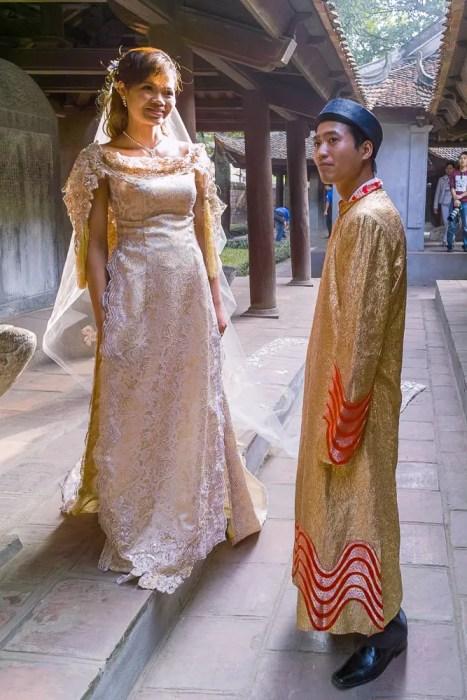 Bride and groom, Hanoi