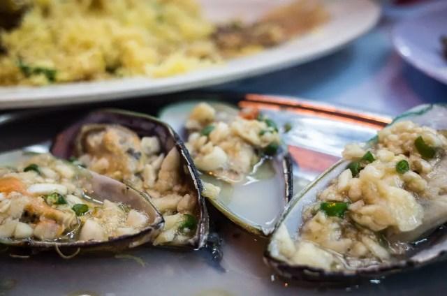 Kuala Lumpur mussels