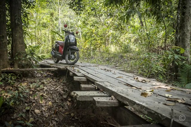 Motorbike on the Island