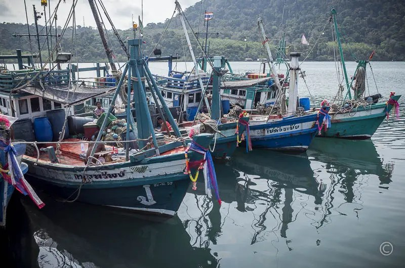 Fishing boats, Ao Yai
