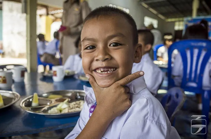 Thai School Boy Posing