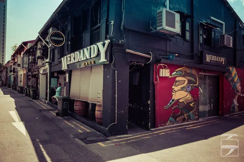 Merdandy Cafe, Haji Lane
