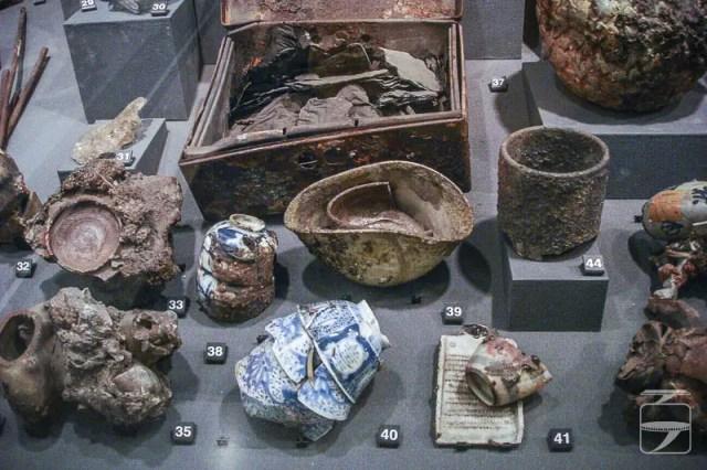 Bombing of Hiroshima Artifacts