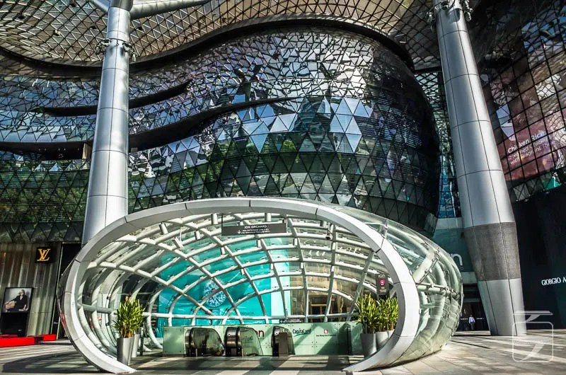 Singapore architecture: Ion Shopping Mall, Orchard