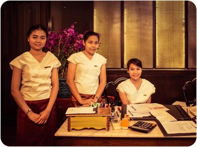Divana Spa staff