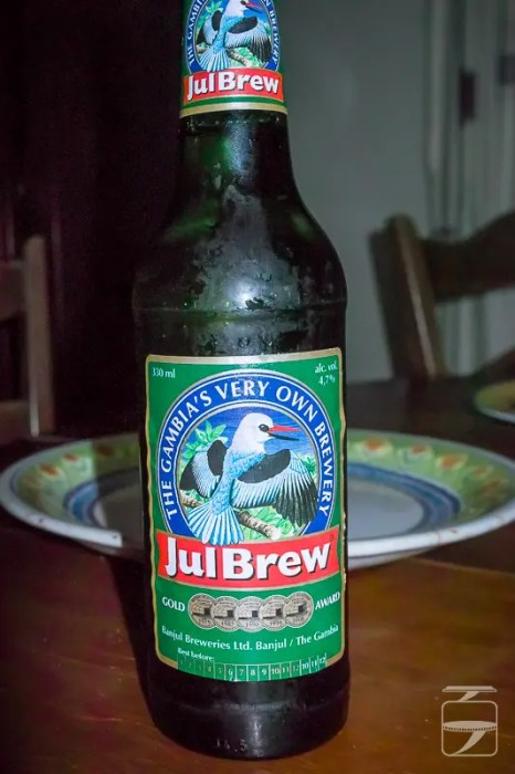 World beers: Julbrew, the Gambia