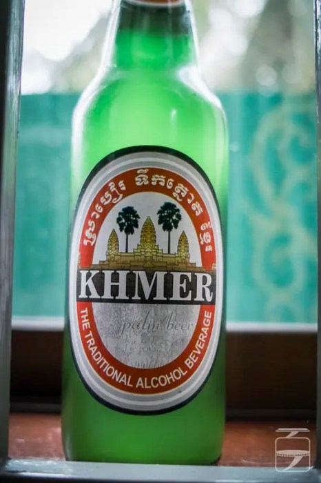 World beers: Khmer Palm beer, Cambodia