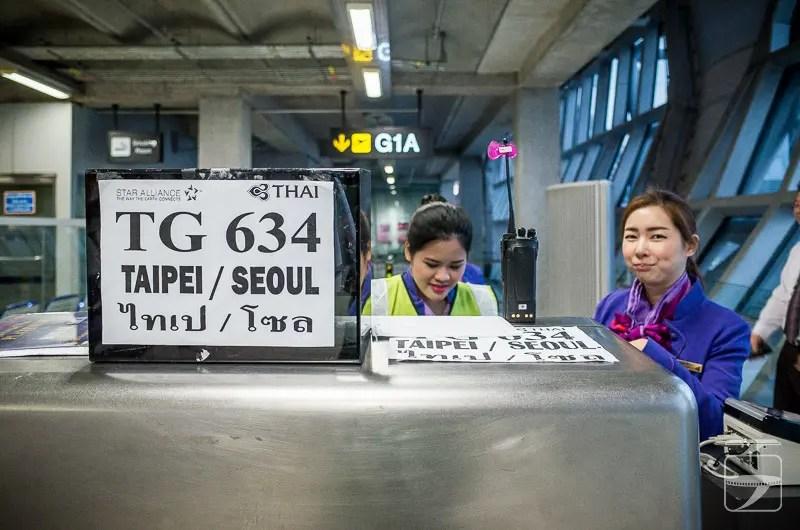 Thai Airways Counter