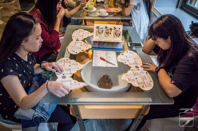 Dining at the Modern Toilet Restaurant