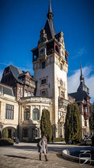 Peles Castle Tower