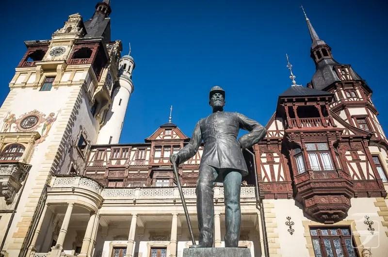 King Carol I Statue