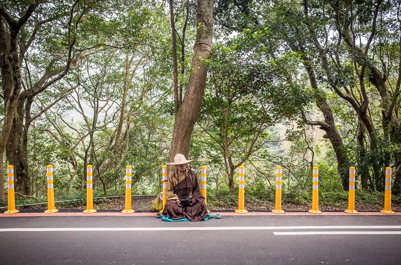 Taiwan monk