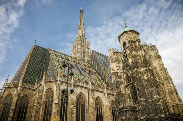 The construction of St. Stephen's Cathedral lasted 65 years, from 1368 to 1433.