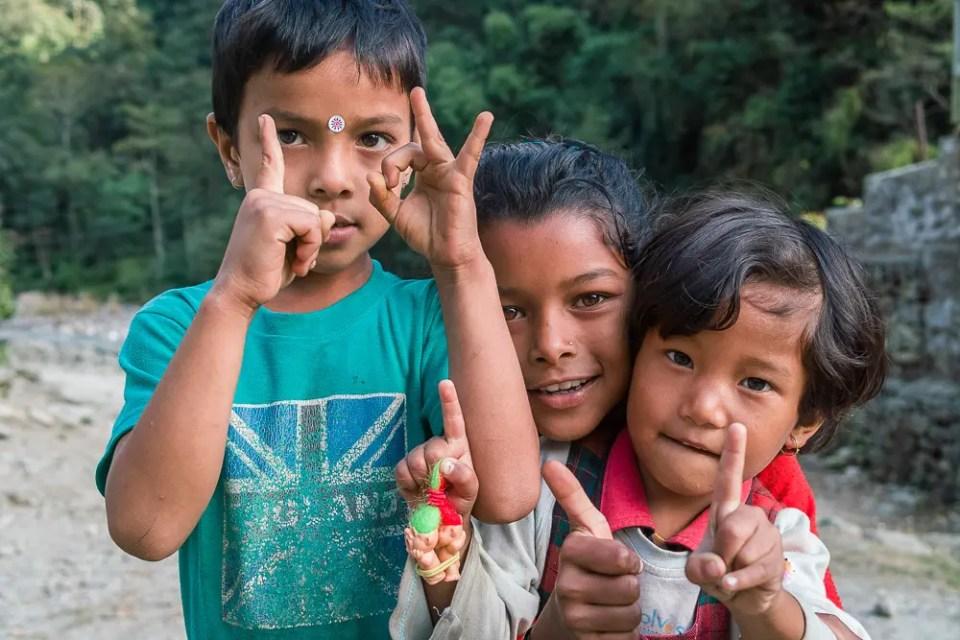Children of Annapurna