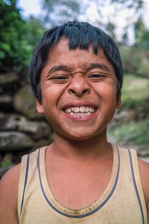 A big smile from Nepal!