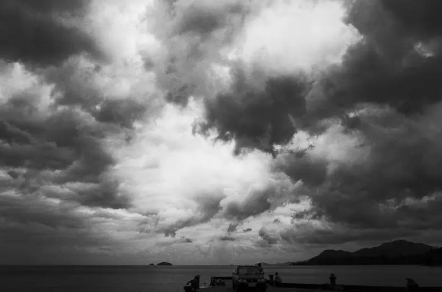 Storm over the sea, Koh Chang Island