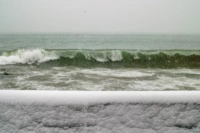 Storm on Lake Ontario