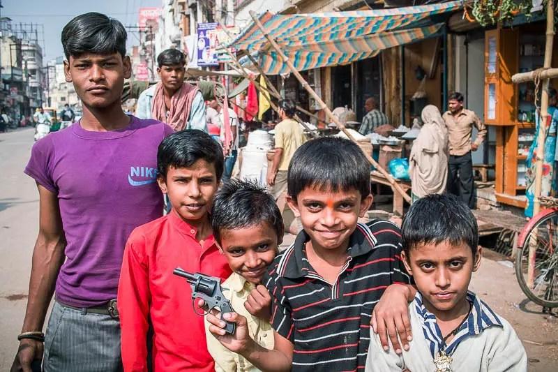 """Gangsters"" of Varanasi"